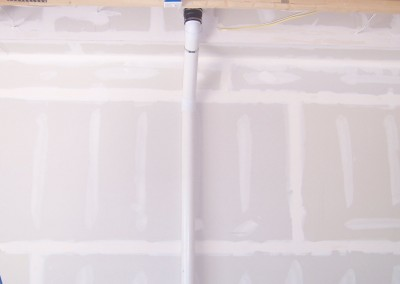 Radon Mitigation Interior Garage